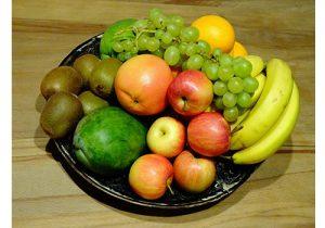 in fruit zitten veel vitamine
